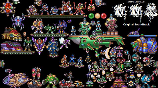 Mega Man X OST Video Interface by ZeroLevels on DeviantArt