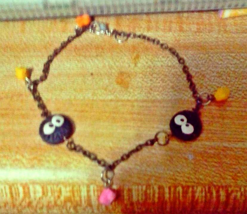 soot sprite bracelet by sailor45