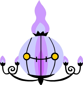 Chandelure by sailor45