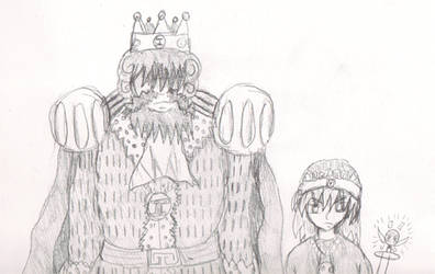 King Weavel and Colie by WestytheTraveler