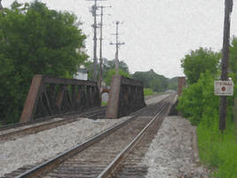 Railroad Bridge 2 by WestytheTraveler