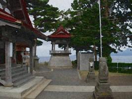 Okinawa Temple by WestytheTraveler