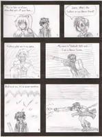 Daiki Draft One Page Two by WestytheTraveler