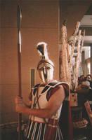 Greek Hoplite by WestytheTraveler