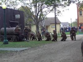 British Battle Line by WestytheTraveler