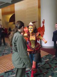 Faye Meets Cosplayer by WestytheTraveler