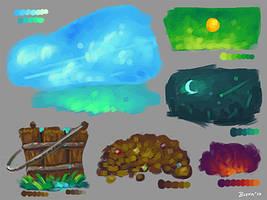 Color Study 3 by Devin-Busha
