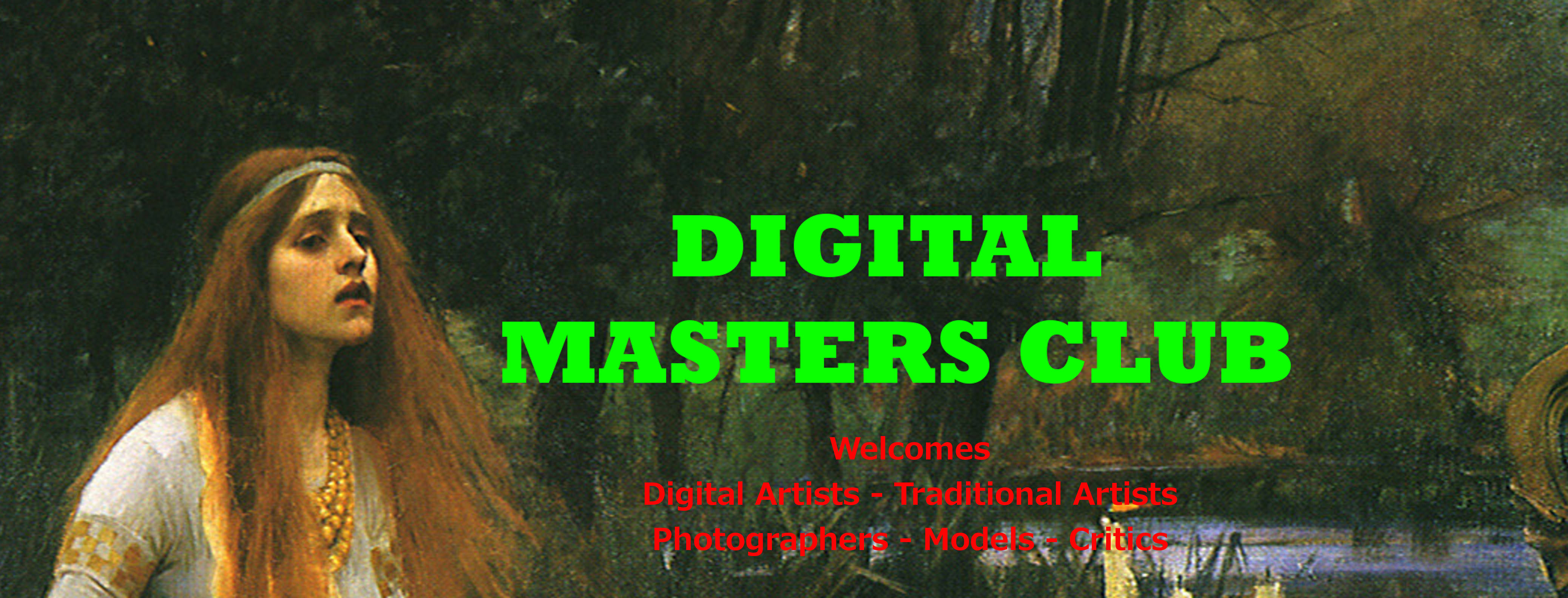 Digital Masters Club Front Cover
