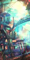 Technicolour City