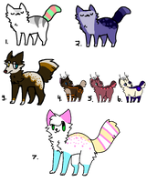 Assorted Adopts (OPEN) by 1-800-ADOPT