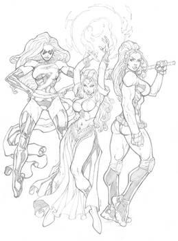 Marvel Girls Commission