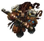 Warcraft Tauren Art