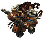 Warcraft Tauren Art