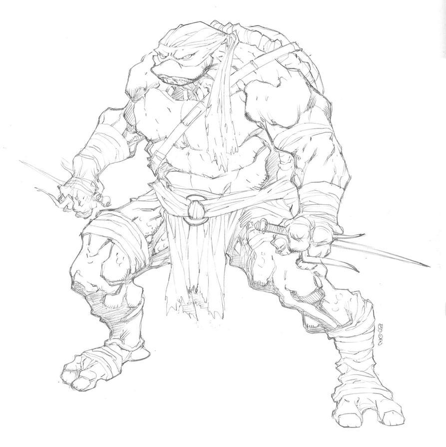 Raphael - Ninja Turtles by mikebowden on DeviantArt