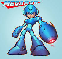 Mega Man by mikebowden