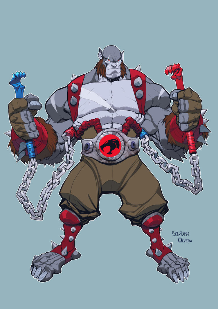 Panthro Colors by mikebowden