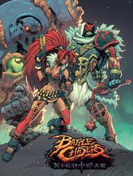 Battlechasers Nightwar Poster