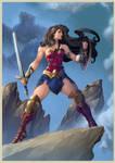 Wonder Woman Painted
