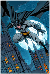 Batman Colors by mikebowden