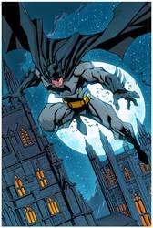 Batman Colors by mikebowden