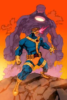 Cyclops vs Sentinel Colors