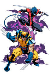 Wolverine and Nightcrawler Colors