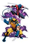Wolverine and Nightcrawler Colors