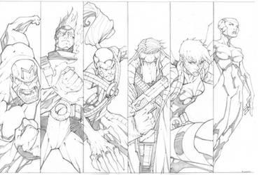 Wildcats Panel Art