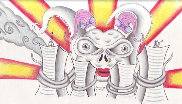 Girl octopus by cjgolden73088