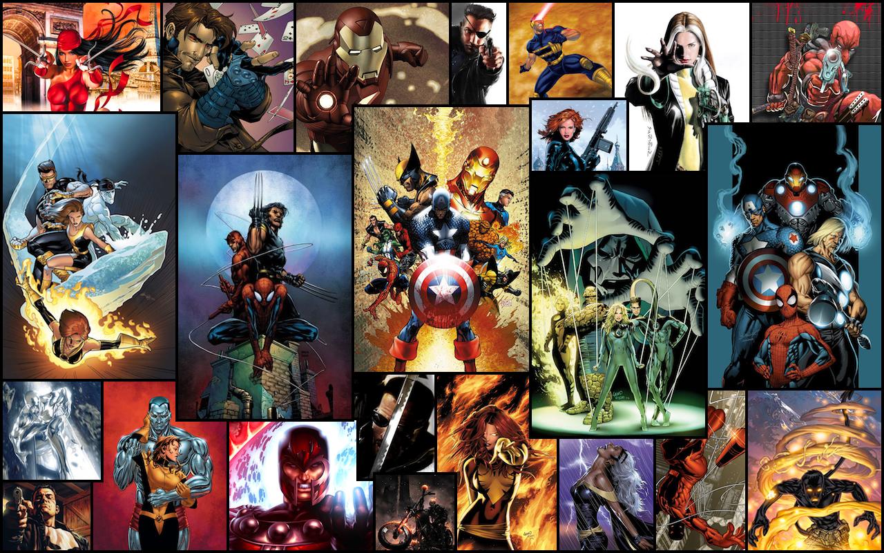 Marvel Comics by kortos117