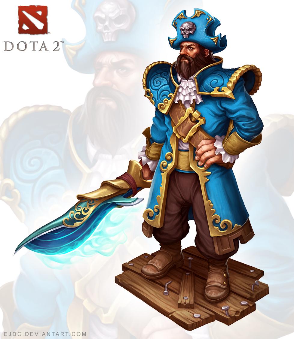 Admiral Kunkka by ejdc on DeviantArt