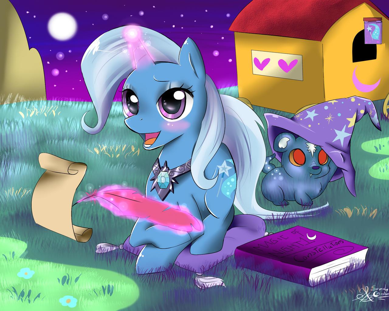 Dear Princess Luna by Daughter-of-Fantasy