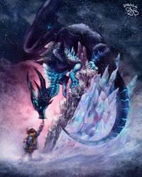 Dark ice dragon