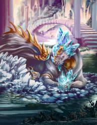 Deco dragon