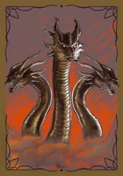King Ghidorah sketch