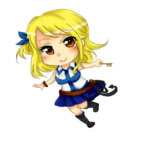 Fairy Tail- Chibi Lucy by kitty614 on DeviantArt