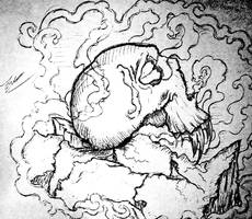 Skull And Smoke by Jared393