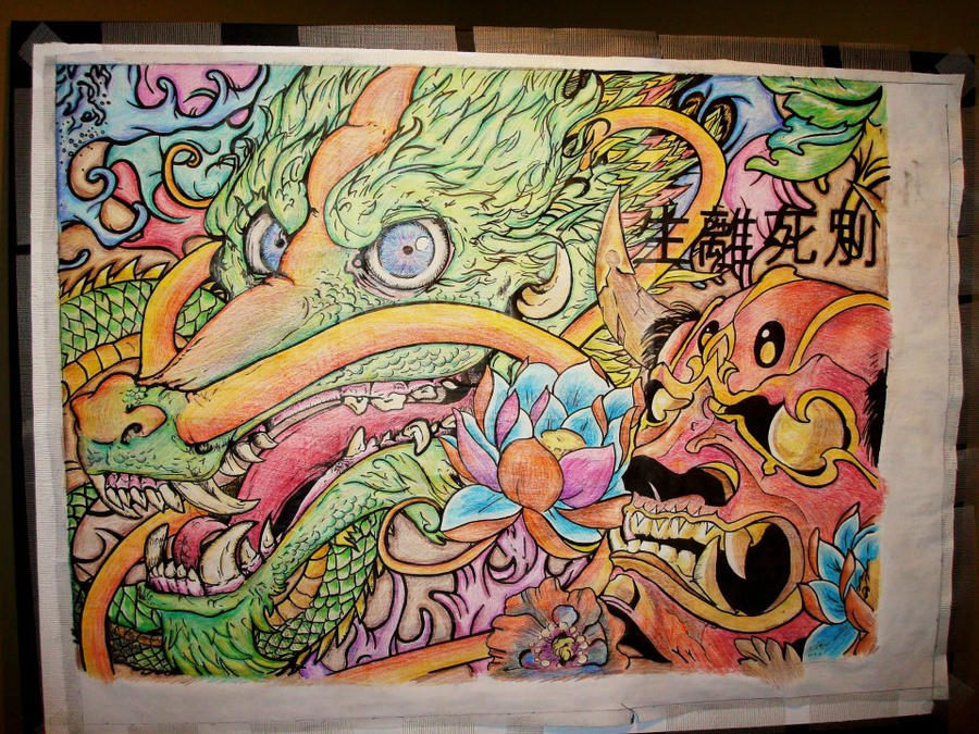 Cluster Of East Asian Art by Jared393