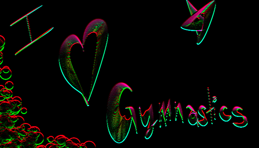 I Heart Gymnastics By Haley Loves You