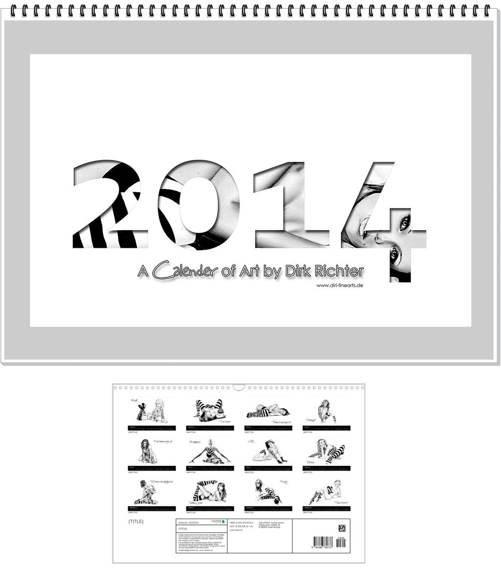 a calender of art - 2014 by DiRi