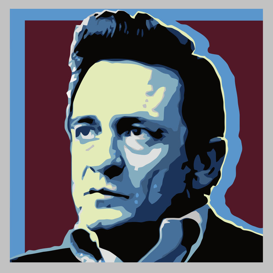 Johnny Cash by ErosSchladming