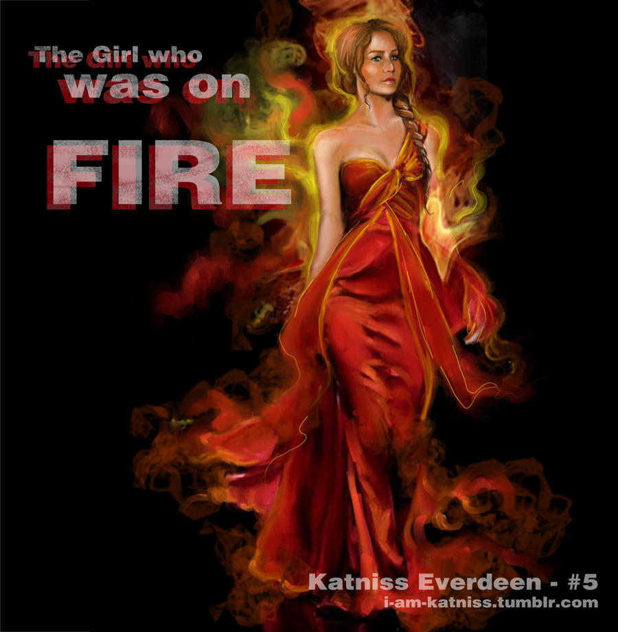 hunger games the girl who was on fire no 5 by lizzomarek on