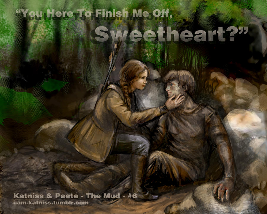 Hunger Games - Katniss finds Peeta - no.6 by lizzomarek