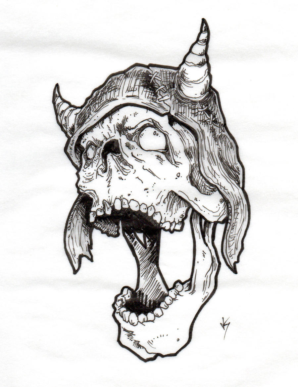 wzory tatuaży, czaszki - Forum 71