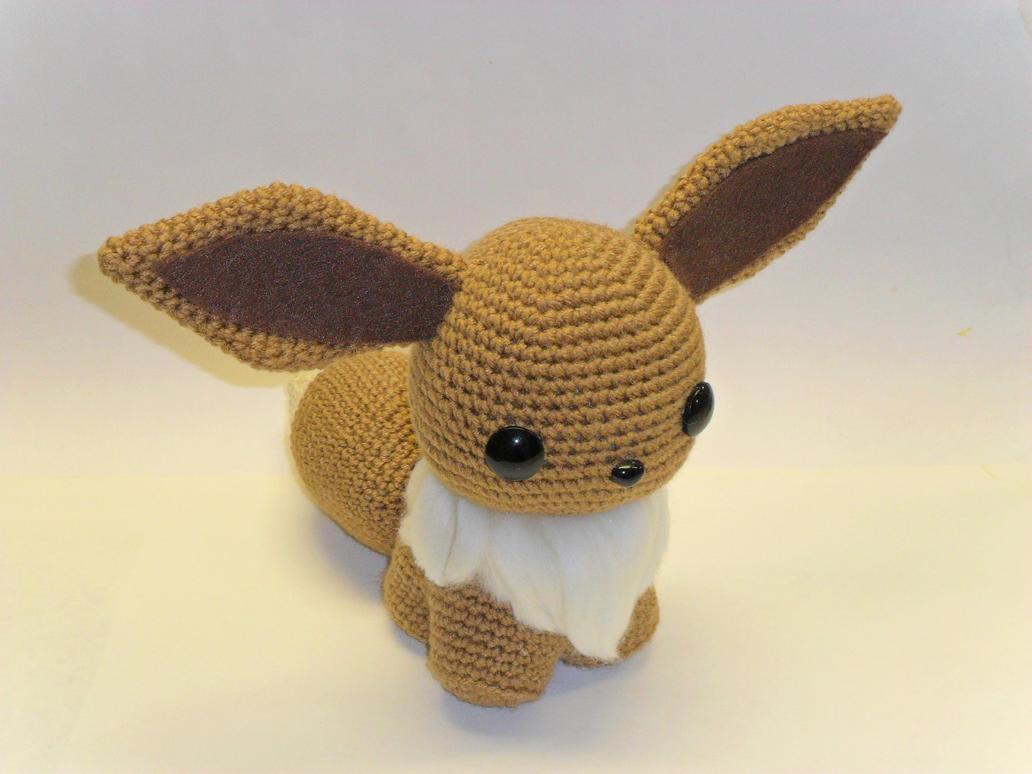 Amigurumi Crochet Pattern Etsy : Eeve crochet doll by Tia-tony on deviantART