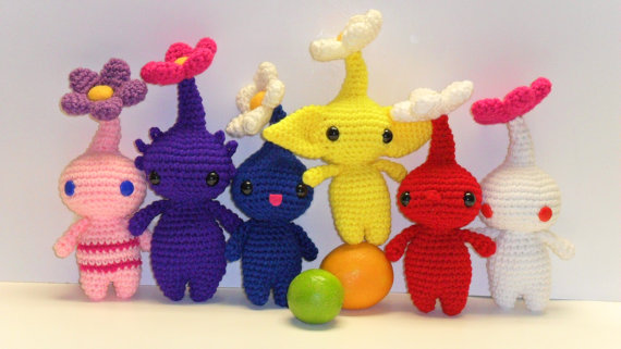 Pikmin new look by Tia-tony