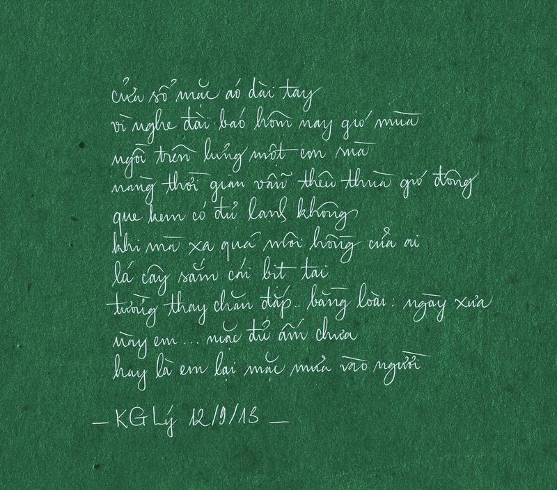 My Handwriting 8 - KG Ly