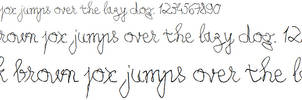 My Left-Handed Writing [Font] - Coming Soon