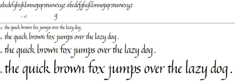 My Italic Script [Font] - Coming Soon by Poemhaiku