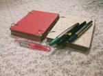 Handmade Sketchbook by me 1